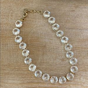 JCrew clear necklace
